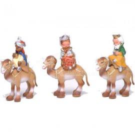 Reyes a camello moderno