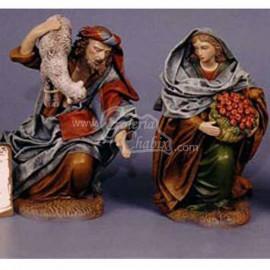 Pastor y pastora adorando