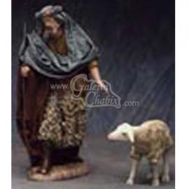 Pastor con cordero