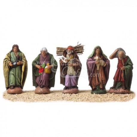 Caja de 5 pastores surtidos