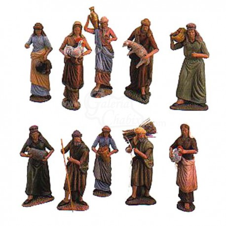 Caja de 10 pastores surtidos