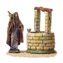 Pastora en pozo