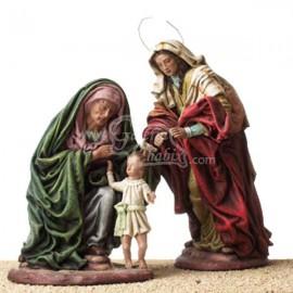 La virgen Maria, Santa Ana y el niño Jesus