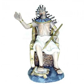 Egipcio en trono