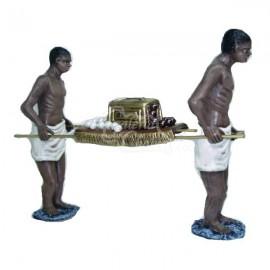 Esclavos con cofre