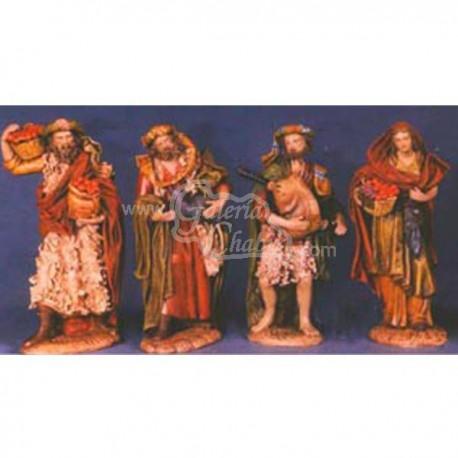 Caja de 4 pastores
