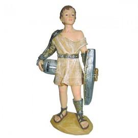 Gladiador con escudo