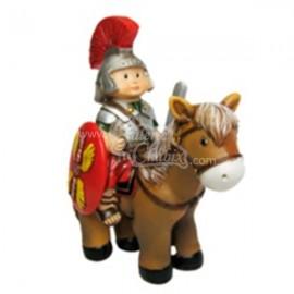 Soldado romano a caballo Naif