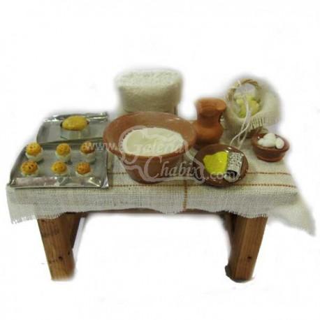 Mesa pastelería