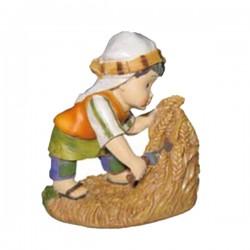 Campesino segando trigo Naif