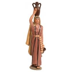Pastora portando jarra