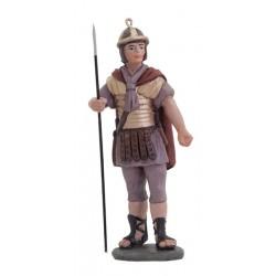 Soldado romano con lanza