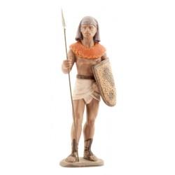 Soldado egipcio con lanza