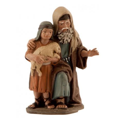 Pastor con niño