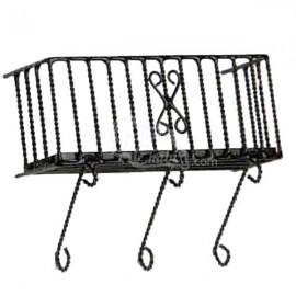 Balcon metal con adorno
