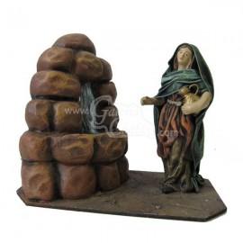 Pastora en fuente