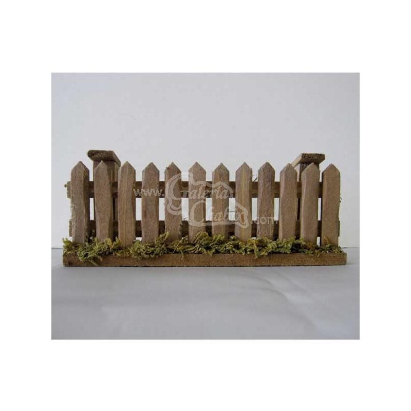 Valla de madera peque a tienda de belenes nacimientos - Valla de madera ...