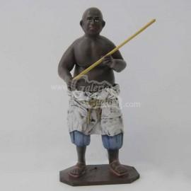 Esclavo con palo