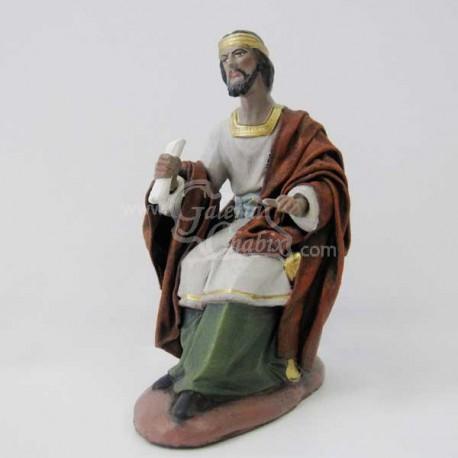 Rey Herodes sentado en el trono
