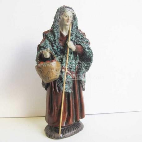 Anciana con cesta tienda de belenes nacimientos - Figuritas para el belen ...